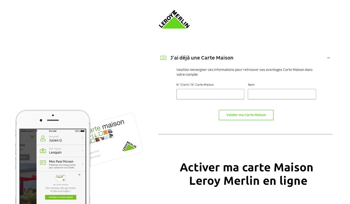 Comment utiliser ma carte cadeau Leroy Merlin ?